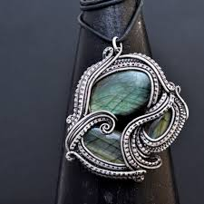 necklace art images Wire wrap necklaces and pendants nicole hanna jewelry jpg