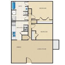 2 bedroom floorplans woodside