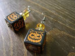 halloween earrings featured listing mage studio the geek pages