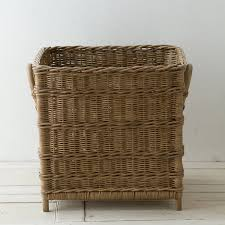 cube plant basket plant basket rattan and construction