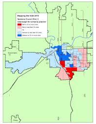 Wsu Map Mapping The Vote Spokane Council Dist 2 The Spokesman Review