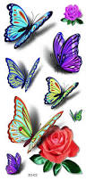 best 25 colorful butterfly tattoo ideas on pinterest amazing 3d