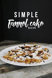 simple funnel cake recipe maker u0027s mix up hello nature