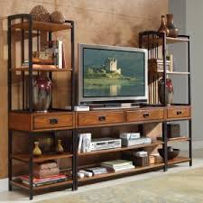 Better Homes And Gardens Tv Stand With Hutch Craftsman U0026 Mission Style Tv Stands Hayneedle