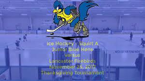 hockey jr blue hens vs firebirds 11 25 2017