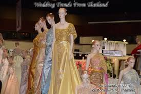 thai wedding dress wedding dresses in thailand trends move to thai silver dresses