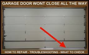 How To Adjust A Craftsman Garage Door Opener by Garage Door Will Not Close All The Way Leaves Gap At Bottom