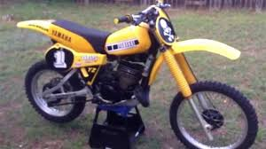 vintage motocross bikes for sale 1980 yamaha yz465 first start vintage mx dirt bike youtube