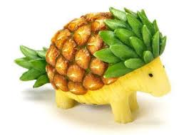 Pineapple Decoration Ideas Interesting Ideas Fruit And Vegetable Art Victoria U0027s Glamour