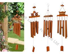 67cm hanging bamboo wind chime decorative outdoor ornament garden