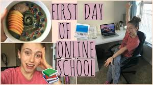 is online high school right for me vlog my day of online high school