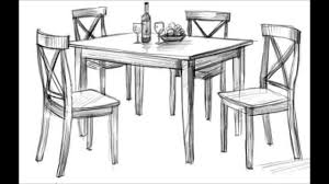 how to draw a dining room table alliancemv com