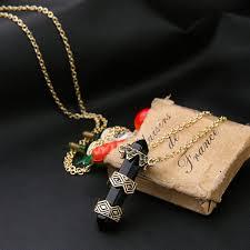 stone pendant necklace wholesale images Wholesale long black stone pendant women necklace yiwuproducts jpg
