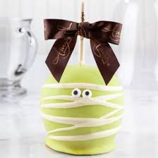 Caramel Apple Party Favors Halloween Caramel Apple Spooky Gifts Halloween Gifts For Teachers