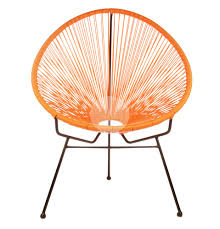 Acapulco Chair Replica Replica Acapulco Lounge Chair Orange Suitable For Outdoor Use