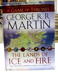 Ice And Fire Map 8th Day Of Oxmas The Lands Of Ice And Fire U2013 Oxfam Bookshop
