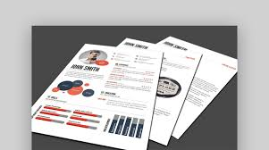 psd resume template 18 best photoshop psd resume templates with photo formats