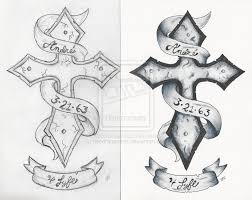 sensation black and white color cross designs for