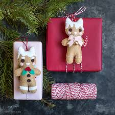 gingerbread animal ornaments lia griffith