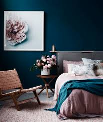 Inspiration of Blue And Black Bedroom Color Schemes with Gray