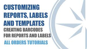 creating barcodes for reports and labels all orders quickbooks