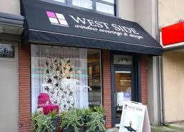 west side window coverings u0026 design 2370 41st avenue w