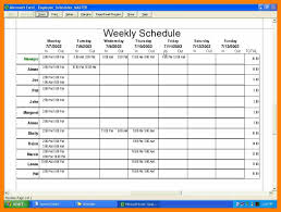 3 work schedule template excel attendance sheet