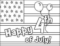 free printable 4th july coloring pages kids adults
