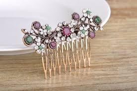 sale turkish tiara vintage bridal jewelry hair combs antique