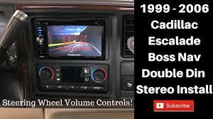 cadillac escalade radio 1999 2006 cadillac escalade touch screen stereo install