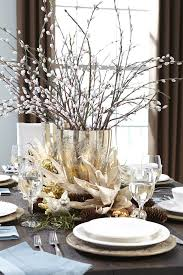 dining room table accents decorating exterior pics beautiful centerpieces silver christmas