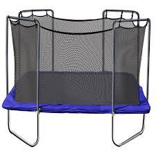 shop skywalker skywalker 13 ft square blue backyard trampoline