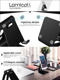 amazon com adjustable cell phone stand lamicall iphone stand