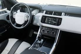 original range rover interior 2015 land rover range rover sport svr first drive review motor