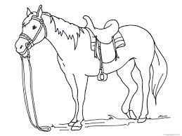 free coloring pages rocking horse horses ponies print