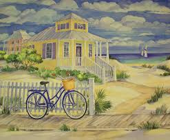 Cottage By The Beach by Cottage On The Beach Painting By Movie Poster Prints