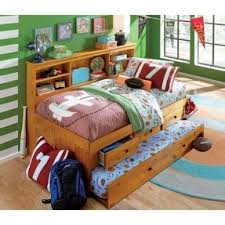 Daybed With Headboard by Trundle Bed With Bookcase Headboard Hollywood Thing