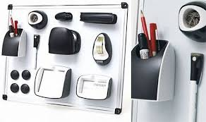 Magnetic Desk Accessories Magnetic Office Set Helps You Stick Your Office Supplies To Your