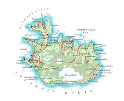 Georgia Map With Cities Maps Of Iceland Detailed Map Of Iceland In English Tourist Map
