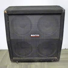 guitar speaker cabinets used sonic 4x12 w celestion g12s 50 guitar speaker cabinet 4 x 12