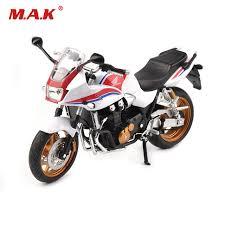 honda cbr motorbike 1 12 scale white motorbike model honda cbr motorcycle diecast model