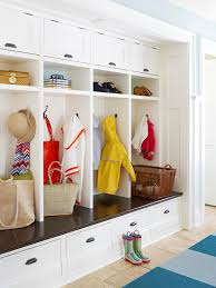 Built In Bench Mudroom Staging Tricks From The Pros Drop Zone Clutter And Coats