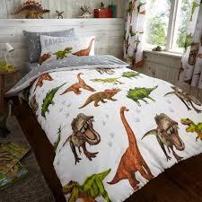 kids rotary dinosaur duvet cover set u2014 linens range