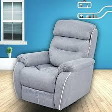 Swivel Upholstered Chairs Living Room Swivel Upholstered Chairs Living Room Blue Velvet Fabric Recliner