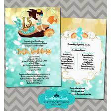 Quinceanera Invitation Cards Sea Beach Credit Card Sweet 15th Invitations Quinceanera