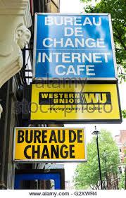 bureau union bruxelles union transfer bureau de change in uk stock