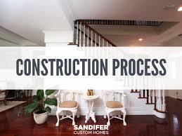 New Home Construction Steps New Construction Process Sandifer Custom Homes In Jacksonville