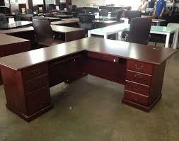 desk l desk l shape desk ideas stunning cherry wood l shaped desk l