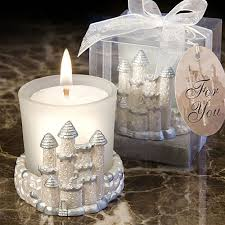 candle wedding favors once upon a time fairy tale candle favors