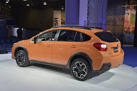 crosstrek subaru orange 2013 subaru xv crosstrek debuts in new york goes on sale this fall